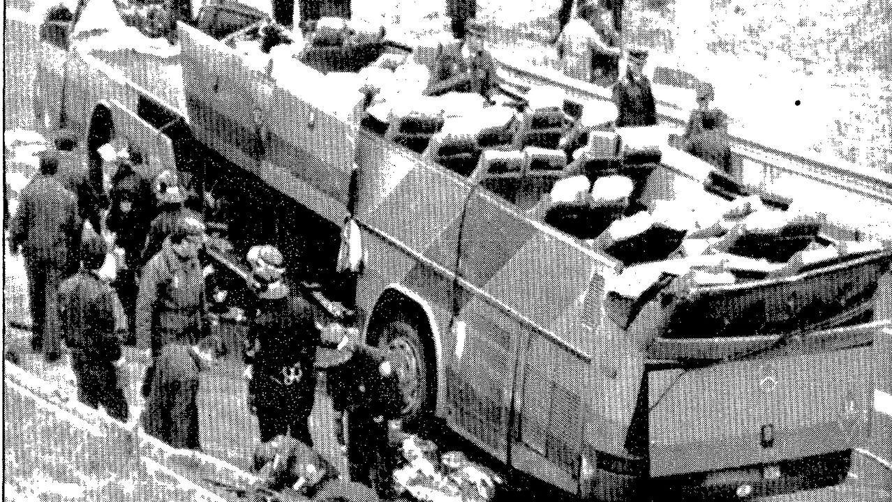 El colapso en Madrid llega a los hospitales, con centros completamente bloqueados.Policía Local de Avilés.