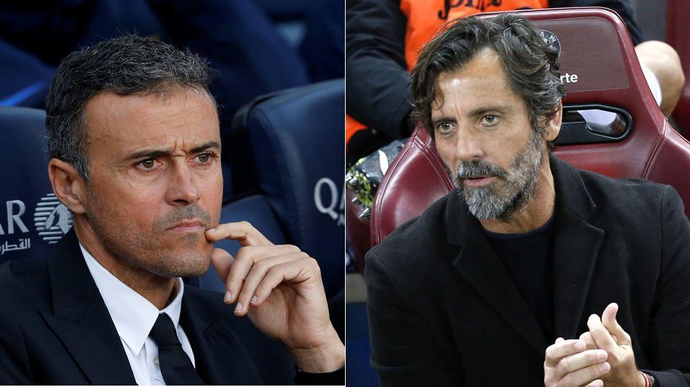 Luis Enrique y las quejas a los árbitros del Barça.Luis Enrique