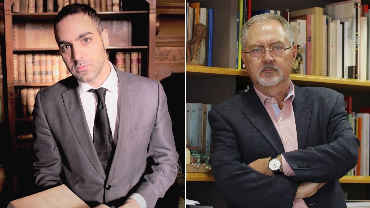 José Manuel del Río y Juan Cal
