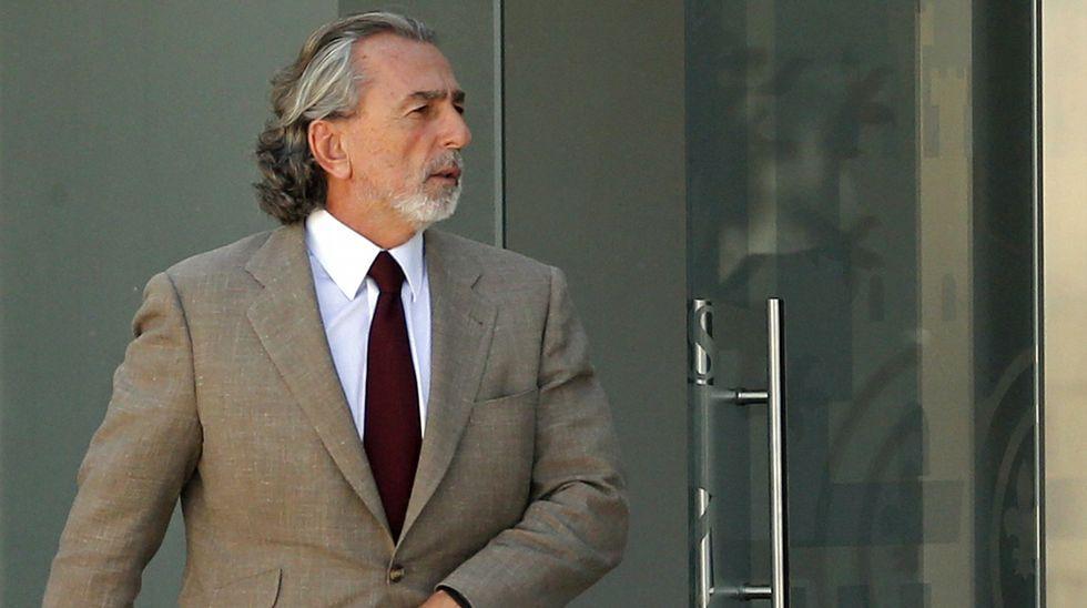 Francisco Correa, durante un receso
