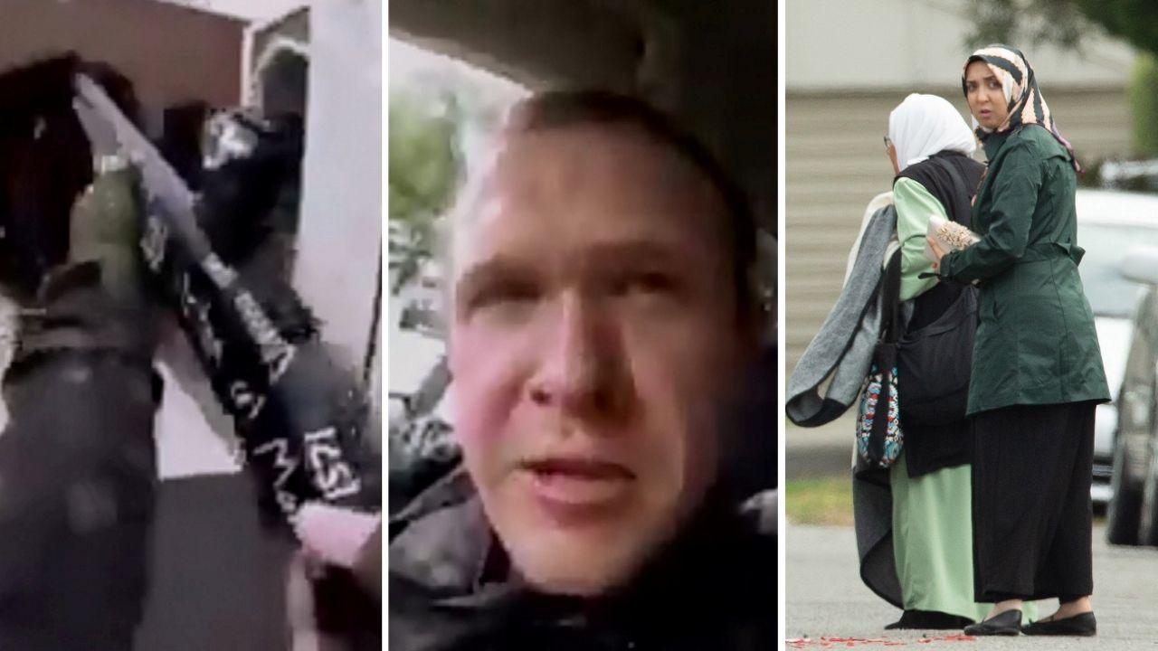 Al menos49 muertos en dos tiroteos contra dos mezquitas en Nueva Zelanda