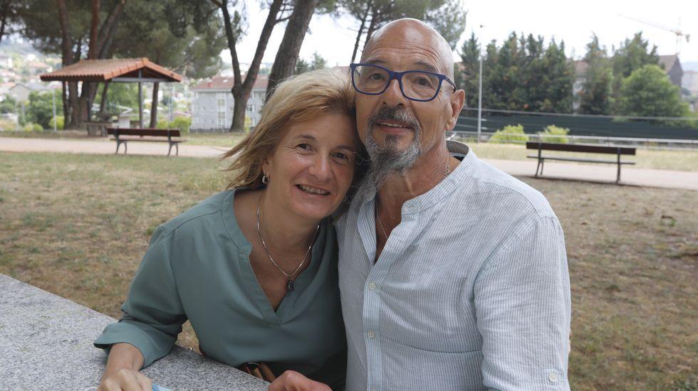 Angelines Quintela y Fernando Loureiro se están haciendo las pruebas de compatibilidad para determinar si ella puede donarle un riñón a él