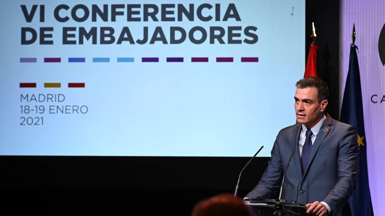 Guaidó, durante la consulta popular del 6 de diciembre del 2020