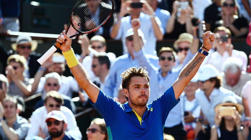 Roland Garros: El partido entre Nadal yWawrinka, en imágenes.Pablo Carreño en Estoril