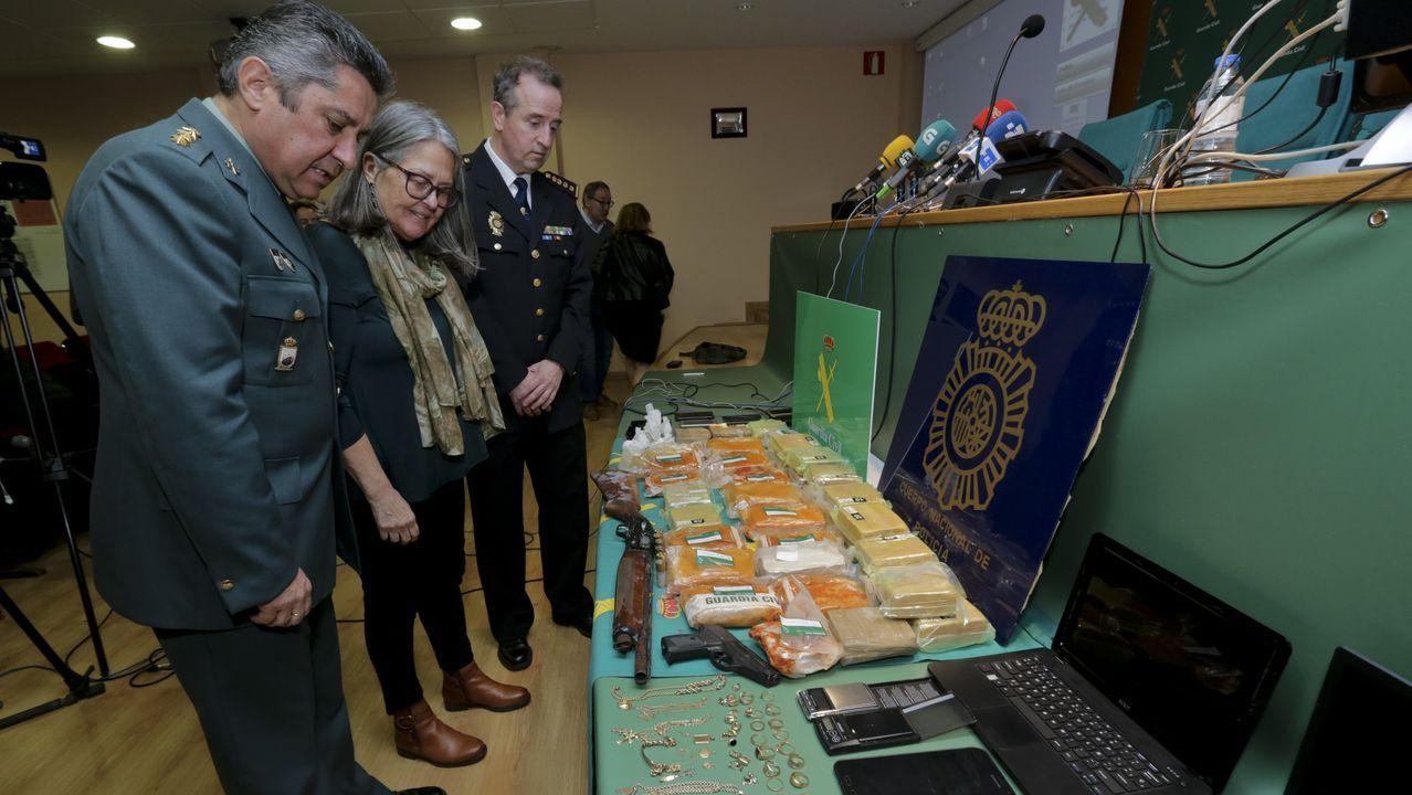 Golpe de la Guardia Civil y la Policía al narcotráfico