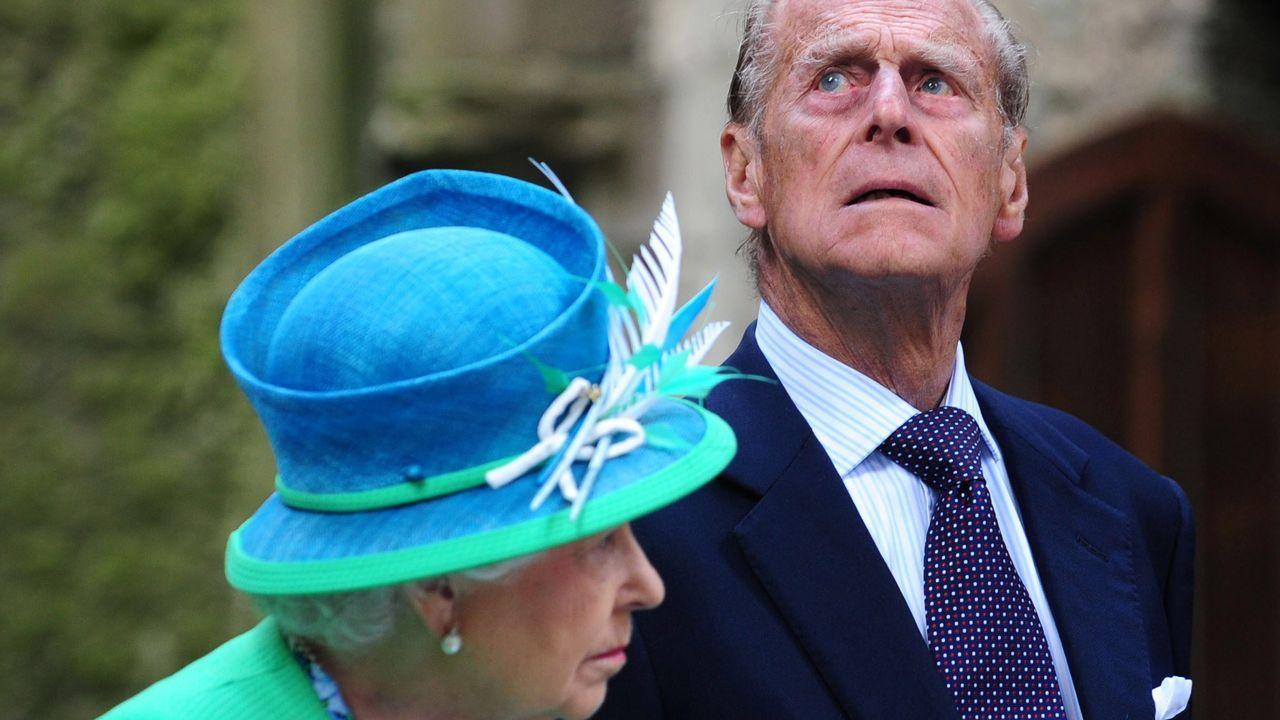 La vida de Felipe de Edimburgo, en imágenes.La reina Isabel II de Inglaterra y su esposo, Felipe de Edimburgo