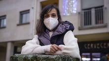 Antía es matrona en Xinzo y Celanova y se infecto de covid-19 en un brote familiar