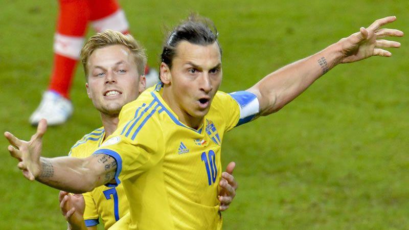 Ibra.Ibrahimovic y Cristiano, en el 2008
