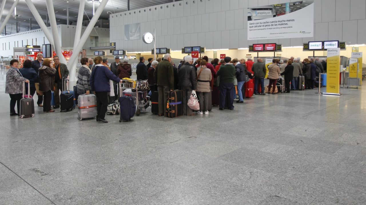 Vigo 2017: doce imágenes para el recuerdo.Aeropuerto de Schiphol (Amsterdam)