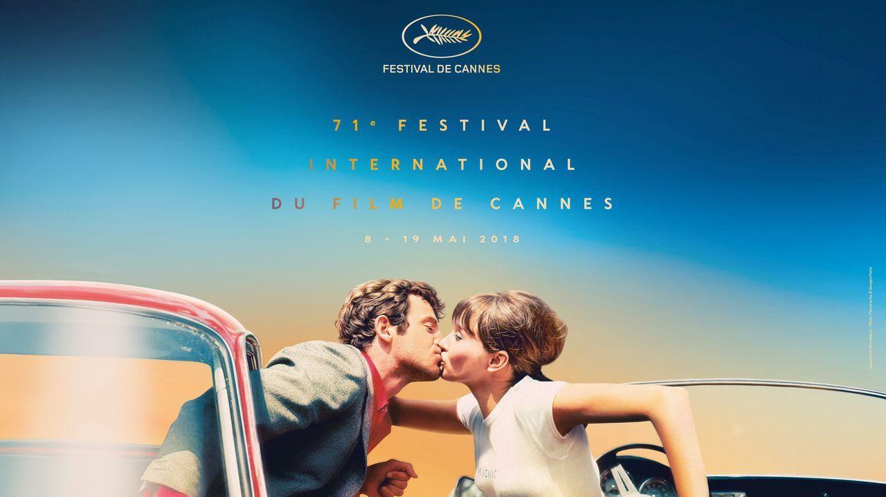 El cartel de la 71 edición de Cannes