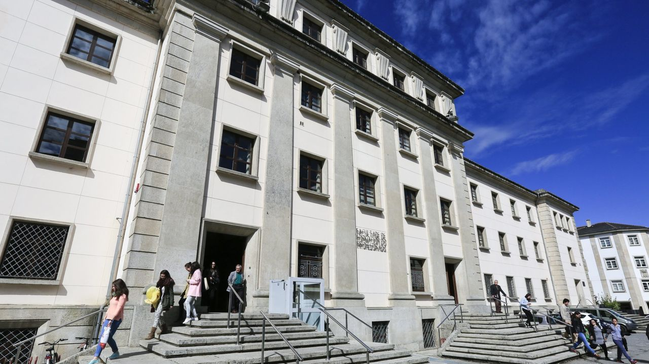 Foto de archivo de la facultad de Formación del Profesorado de Lugo