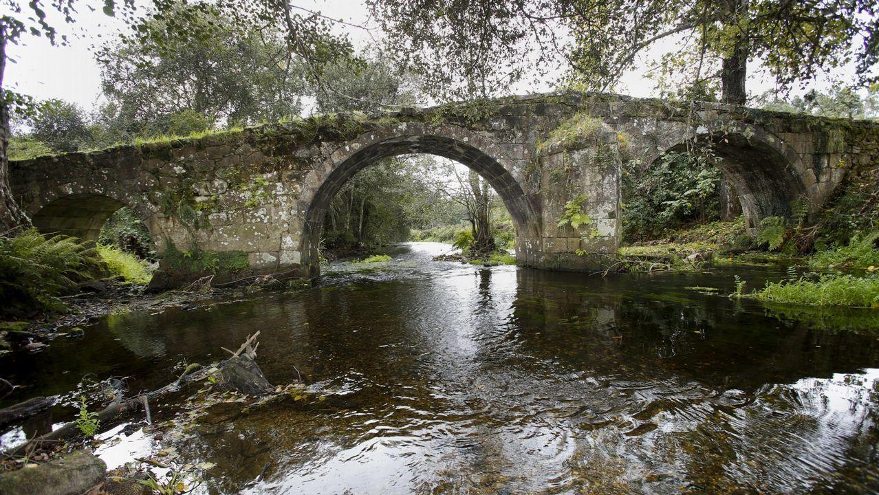 Ponte Lubiáns, entre Coristanco y Carballo