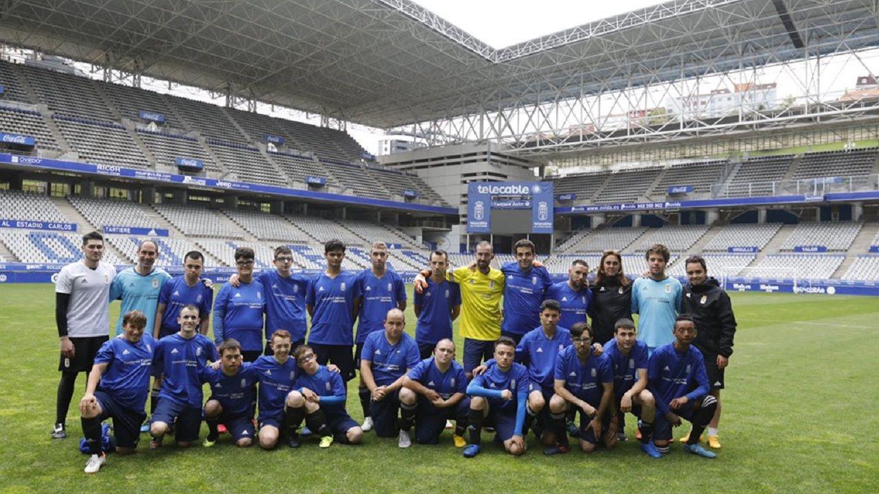 Toche Real Oviedo Extremadura Carlos Tartiere.Real Oviedo Genuine