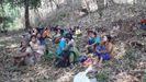Cerca de 10.000 aldeanos optaron por esconder en la selva tras los bombardeos del Ejército