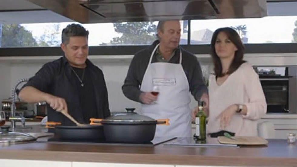Fabiola trabajó con Alejandro Sanz en un vídeoclip