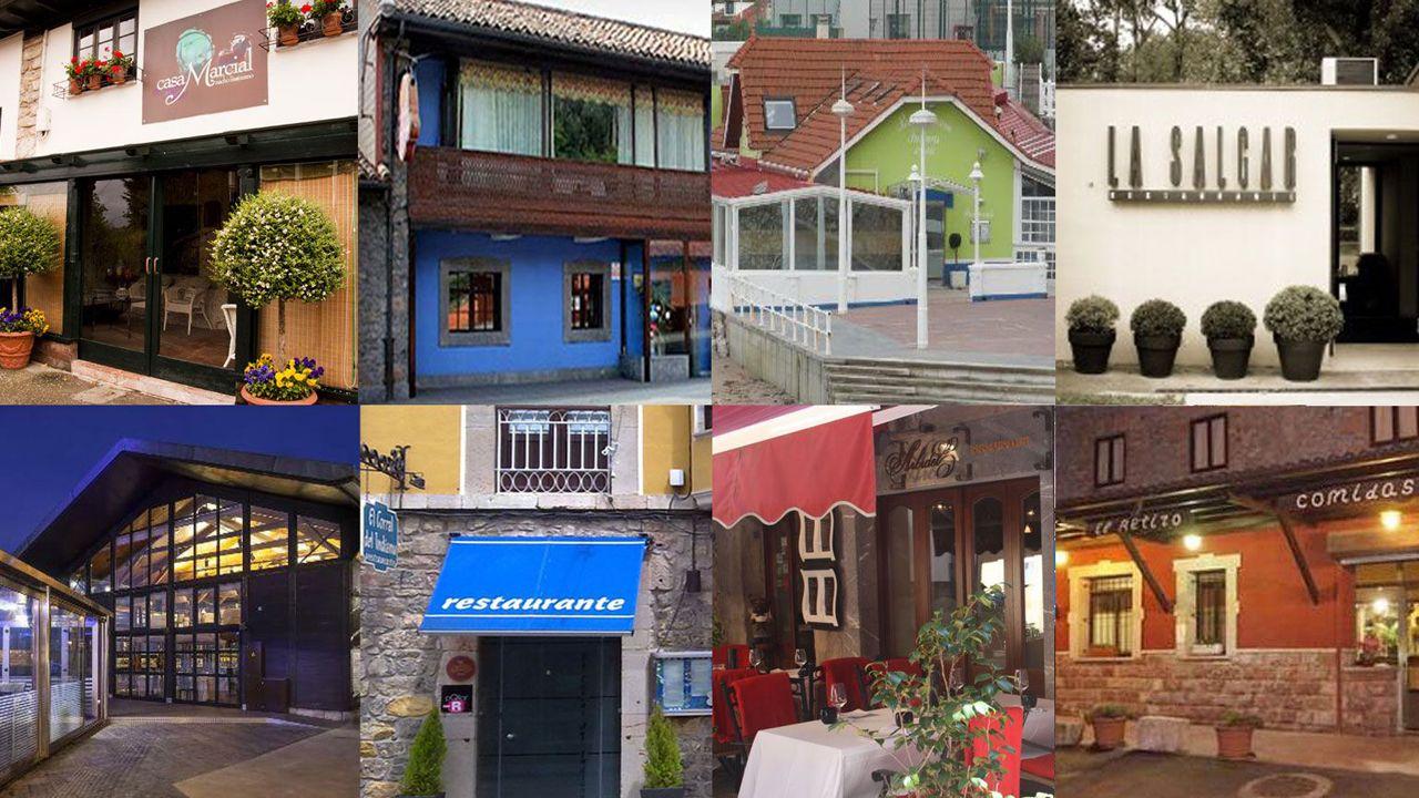 Así se vive el 25-N en Asturias.Restaurantes asturianos con Estrella Michelin