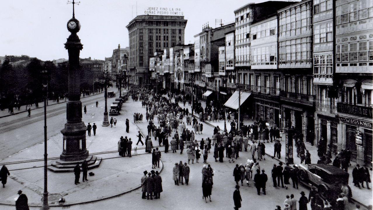 El Obelisco, en 1933