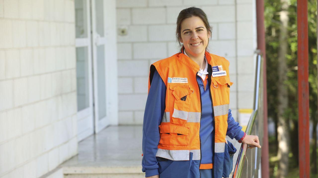Susana Gamallo, enfermera del 061