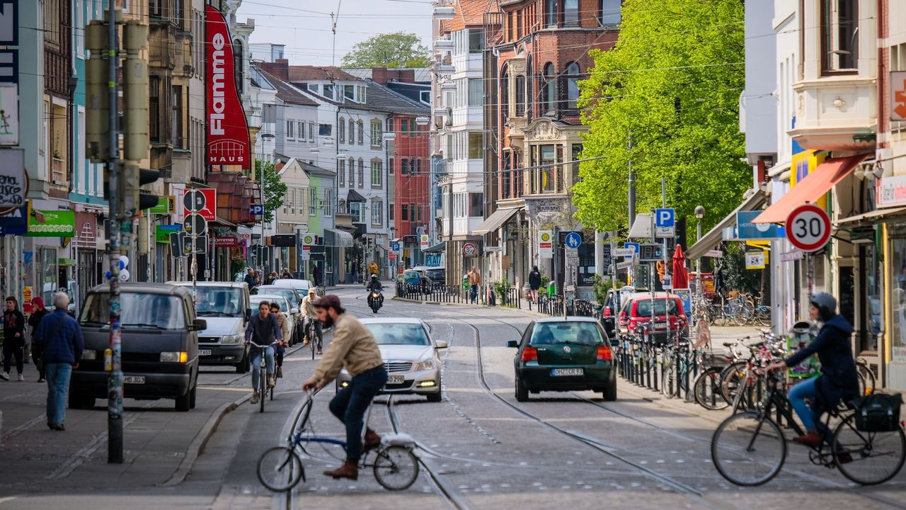 La ciudad de Bremen, en el norte de Alemania, vuelve a la normalidad