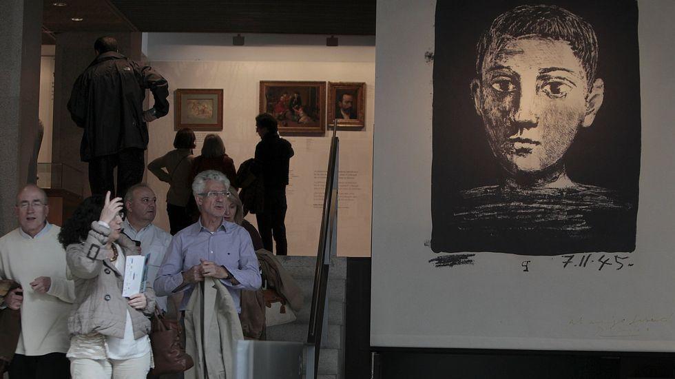EXPOSICION  EL PRIMER PICASSO  EN EL MUSEO DE BELLAS ARTES EN EL 2015
