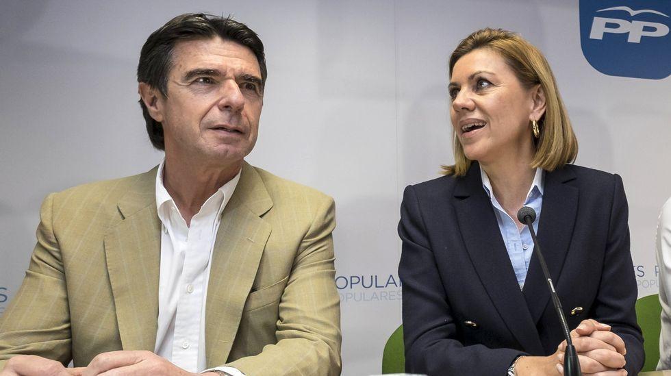 Cospedal: «La renuncia de Soria no tiene que ver con ningún tipo de corrupción».La ex magistrada y diputada de Unidas Podemos Victoria Rosell, en una imagen de archivo