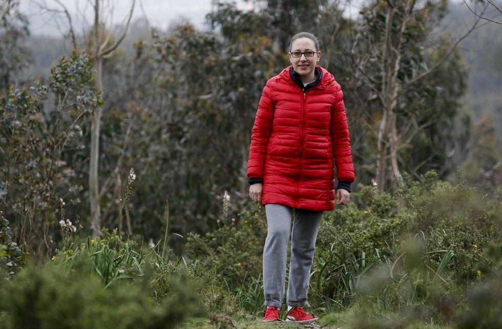 Eva Varela fue vicepresidenta de la comunidad de montes de Armenteira durante años.