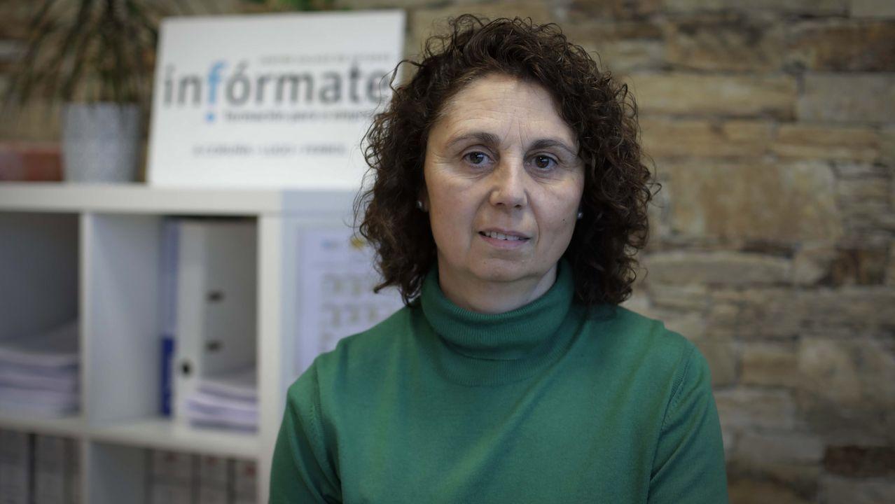 Julia Domínguez trabaja desde hace tiempo en el centro Infórmate.