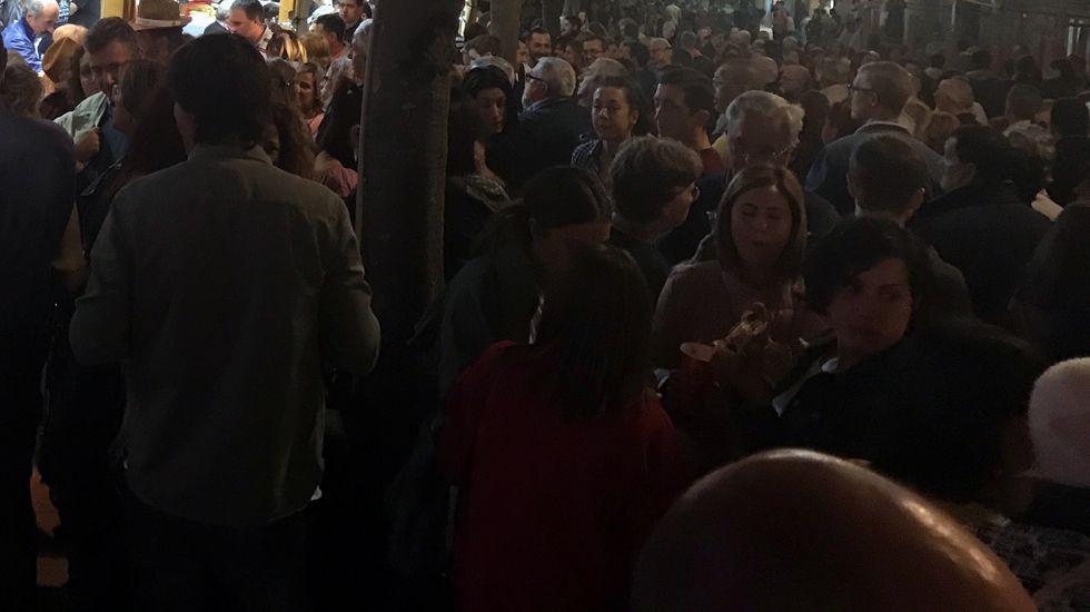 Miles de personas se concentraron en el Casco Antiguo durante las fiestas de San Mateo.Miles de personas se concentraron en el Casco Antiguo durante las fiestas de San Mateo