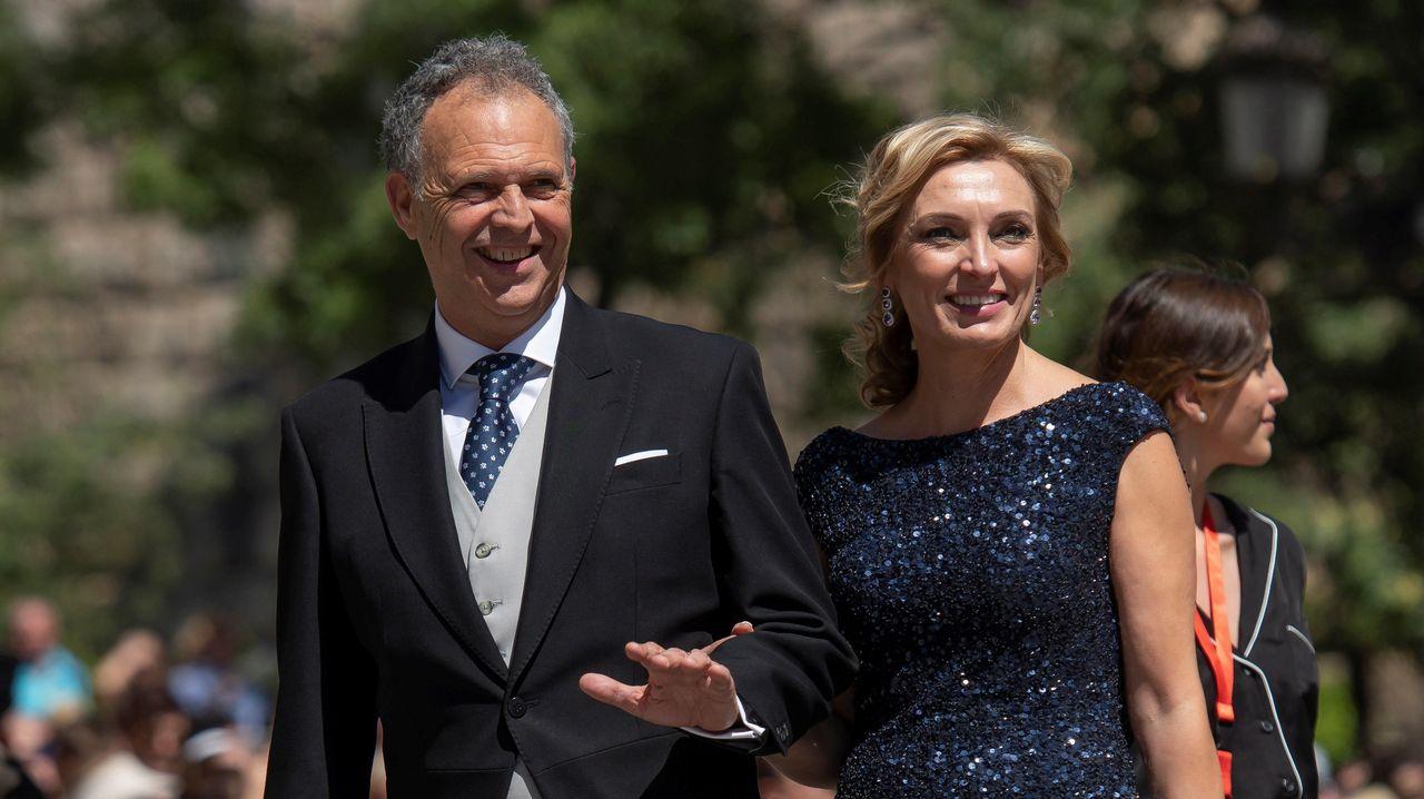David y Victoria Beckham, los más esperados en la Catedral de Sevilla