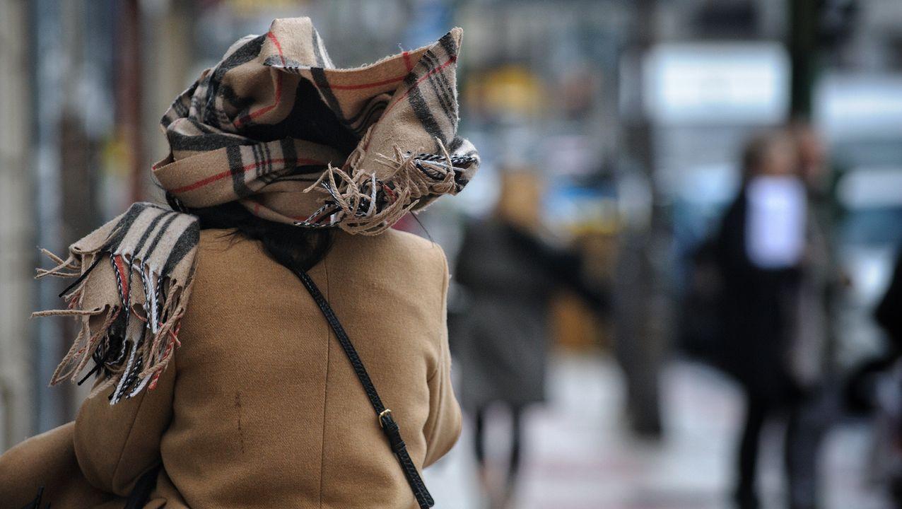 El mal tiempo provoca numerosos incidentes en la comarca.Imagen de archivo de la huelga comarcal del 2013, en demanda de medidas similares