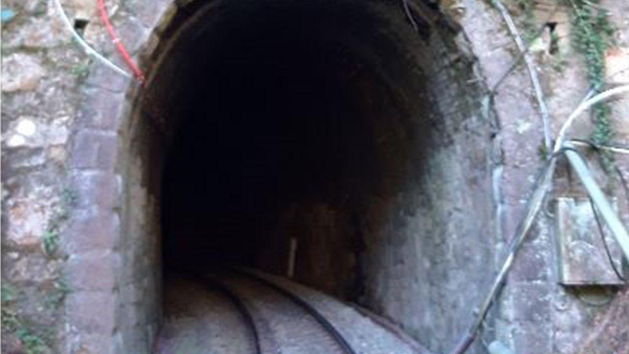 Túnel ferroviario