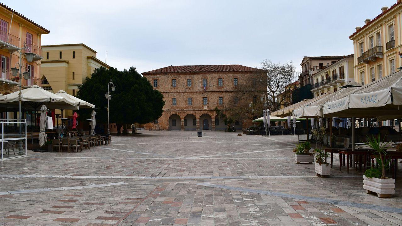 Centro de Salónica, en Grecia