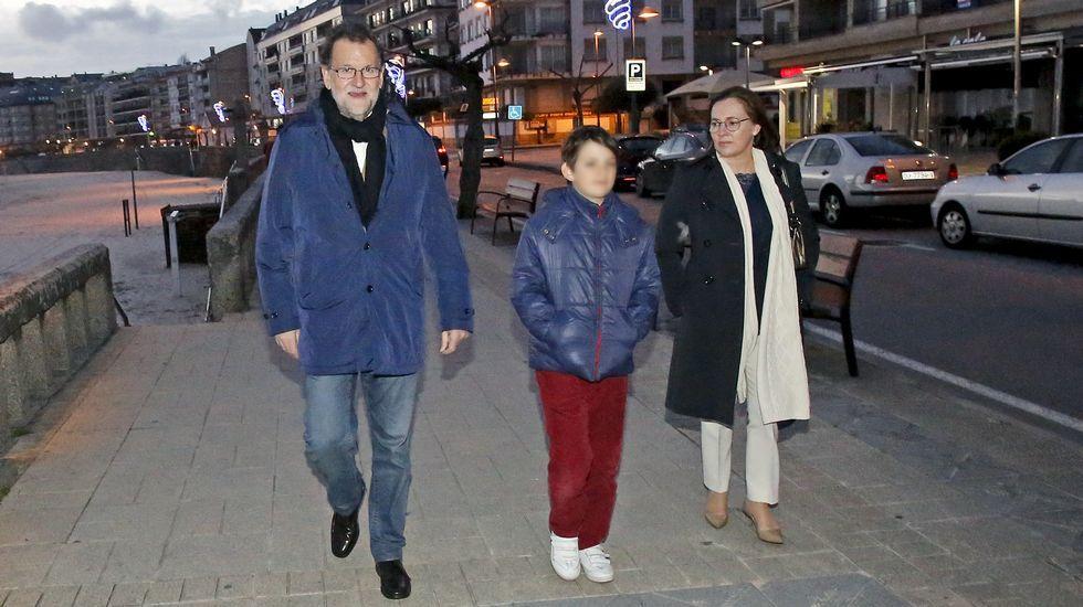Rajoy pasa unos días de descanso en Galicia