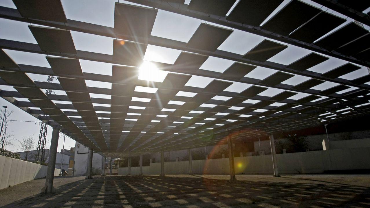 Así esla plantaque BMW acaba de inaugurar en México.Granja de paneles solares