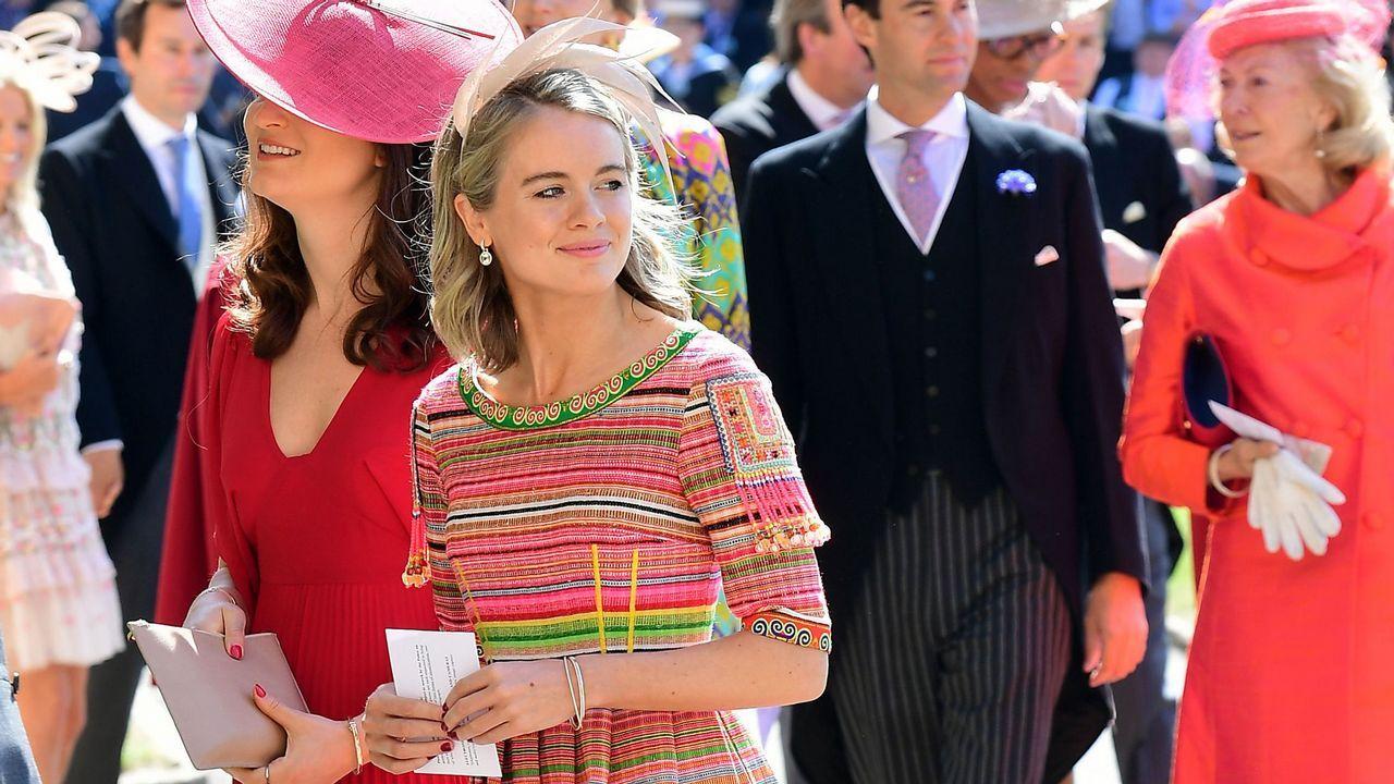 La actriz y modelo Cressida Bonas, que durante años salió con el príncipe Harry