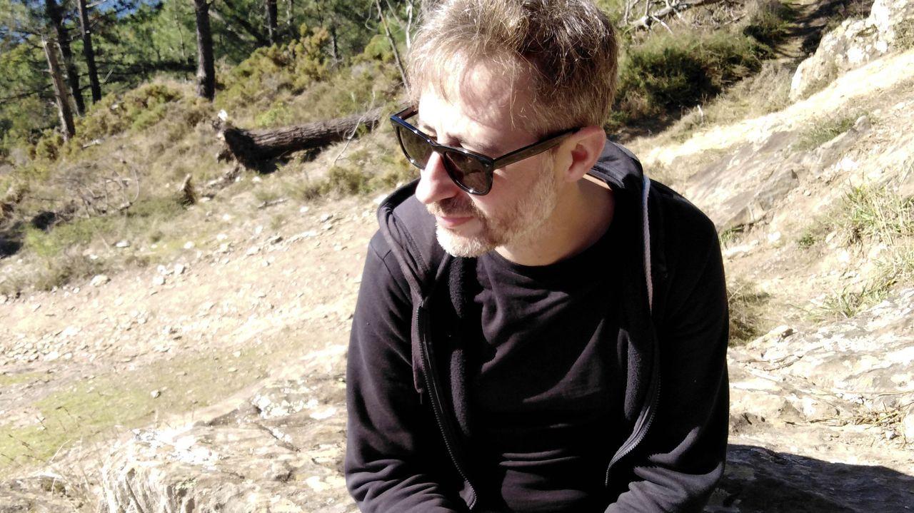 Pedro Simón, autor de «Los ingratos», premio Primavera de Novela 2021