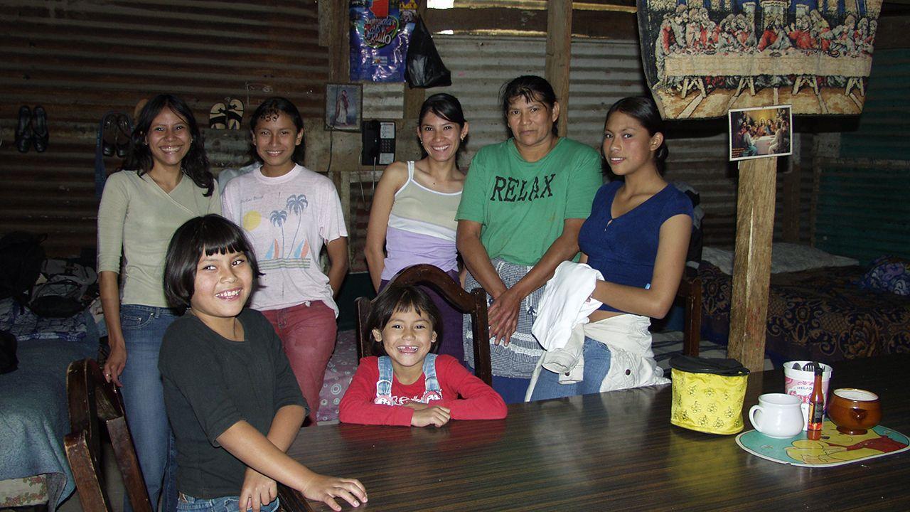 Jóvenes del proyecto de Seronda en Guatemala