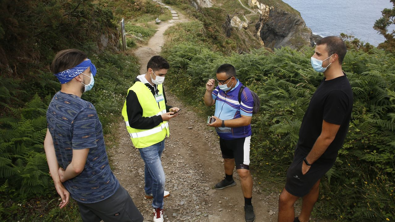 Playas en la provinciade Lugo.Desde el Hospital Público da Mariña se está llevando a cabo una intensa labor de rastreo para localizar a personas contagiadas de coronavirus