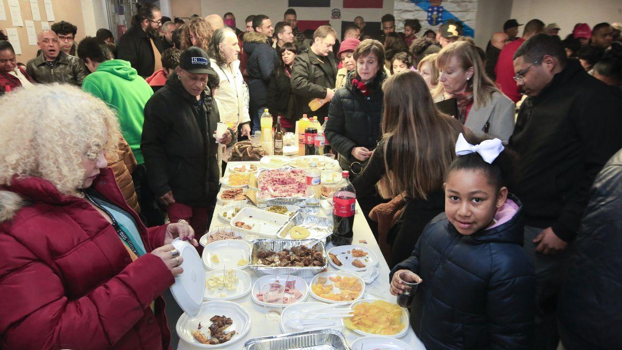 Asturias, Oviedo .Fiesta de Altagracia en la parroquia de A Milagrosa el pasado mes de enero