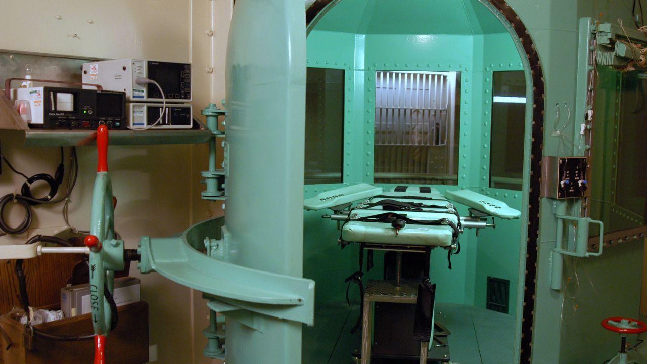 Imagen de una de las cámaras de ejecuciones por inyección letal