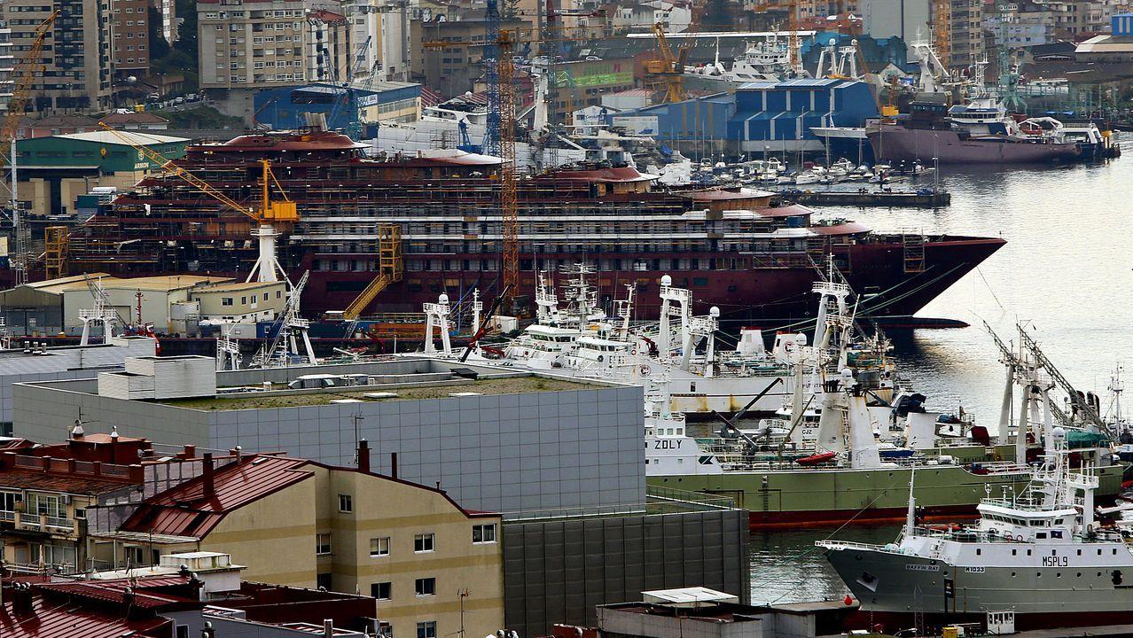 El Black Friday llena las zonas comerciales de A Coruña