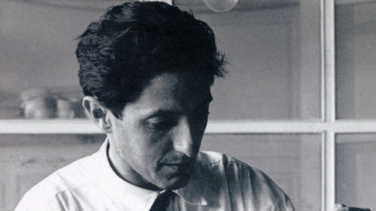 Imagen del intelectual galeguista Isaac Díaz Pardo