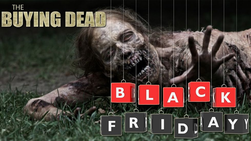 «Los muertos comprantes», cuando el Black Friday es como «The Walking Dead».Fábrica de GEA en Cabral, en estado ruinoso