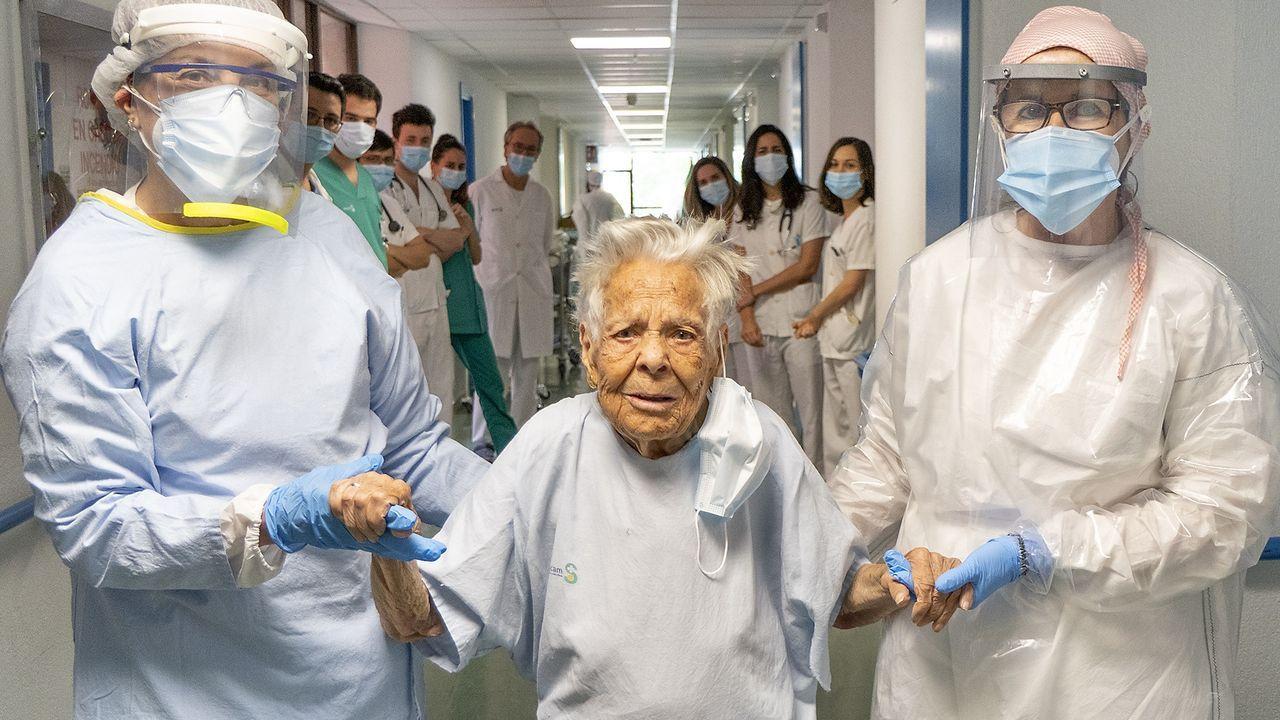 Paciente española de 105 años dada de alta por coronavirus