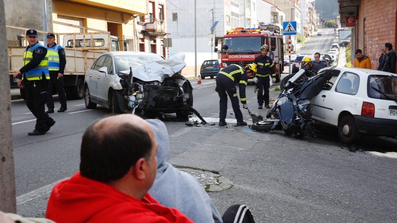 El conductor del coche del accidente de Vigo habría sufrido un desvanecimiento