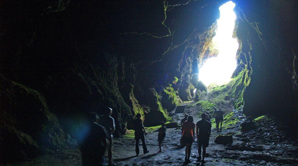 La Cova das Choias es uno de los destinos elegidos para las visitas guiadas