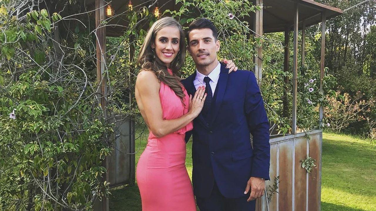 El excéltico Carlos Bellvís y su pareja, Rocío Alcázar