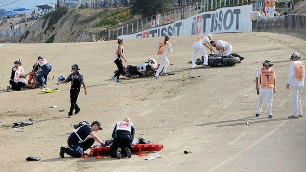 Nicky Hayden se debate entre la vida y la muerte.Melandri, tras Biaggi, regresa al Mundial.