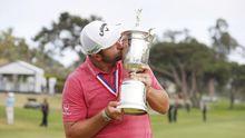 Jon Rahm celebra el US Open de Golf