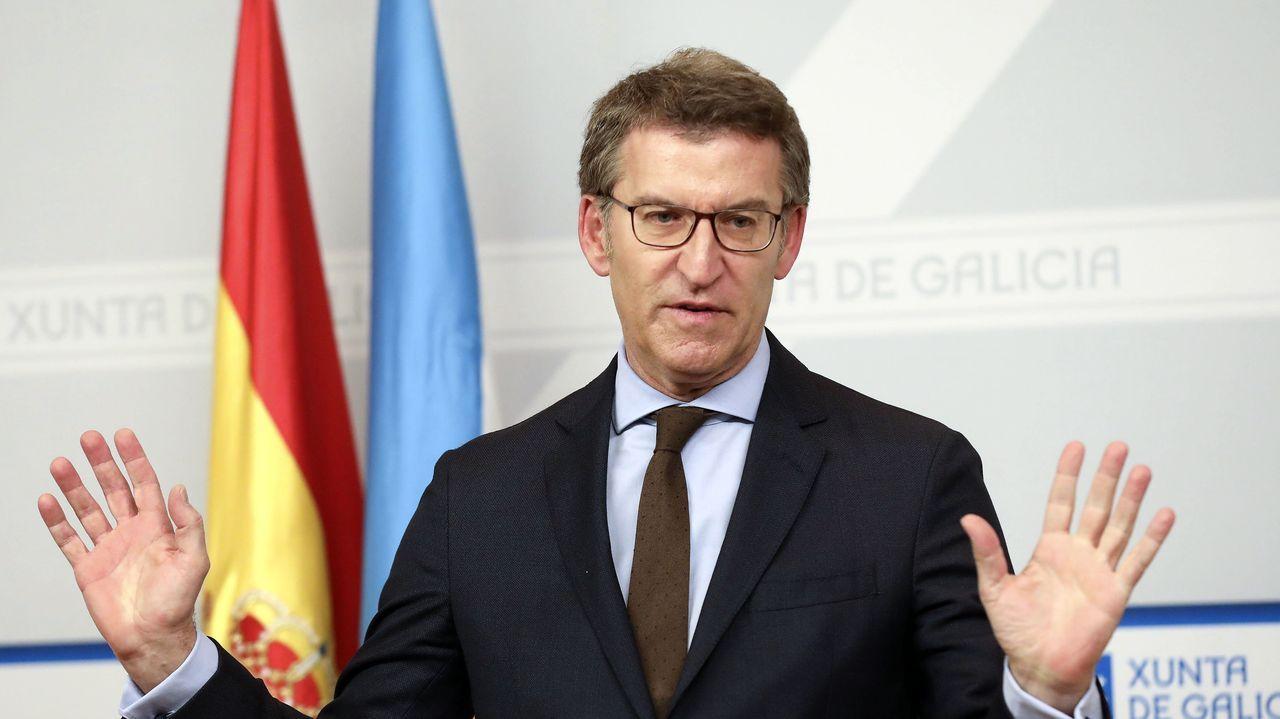 En directo: Comparecencia de Alberto Núñez Feijoo sobre el coronavirus.Melania Alvarez, portavoz del Gobierno del Principado.